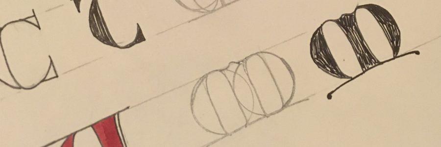 lettres tourneures